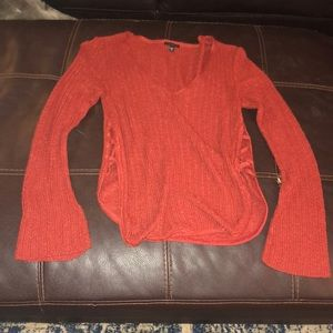 Rust colored express sweater